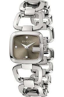 GUCCI YA125503 G-Gucci stainless steel watch