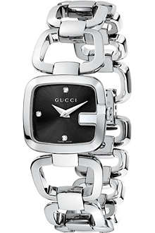 GUCCI YA125509 G-Gucci stainless steel watch