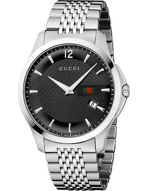 GUCCI YA126309 G-Timeless Collection stainless steel watch