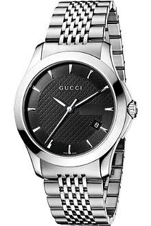 GUCCI YA126402 G-Timeless Collection stainless steel watch