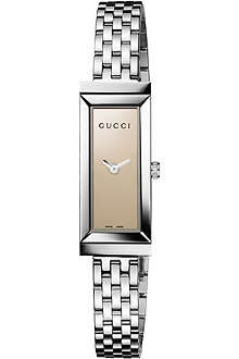 GUCCI YA127501 G-Frame Collection stainless steel watch
