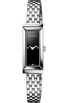 GUCCI YA127504 G-frame stainless steel watch