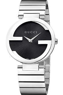 GUCCI YA133307 Interlocking-G large stainless steel watch