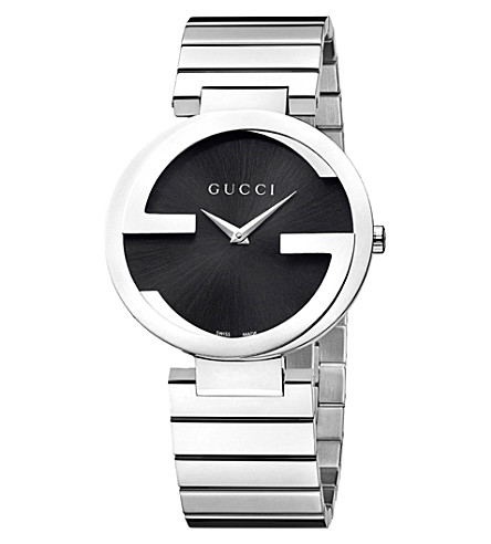 GUCCI YA133307 Interlocking-G Collection stainless steel watch