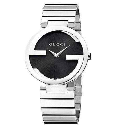 GUCCI YA133307 联锁 G 集合不锈钢腕表