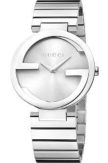 GUCCI YA133308 Interlocking-G large stainless steel watch