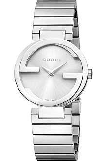 GUCCI YA133503 Interlocking-G Collection stainless steel watch