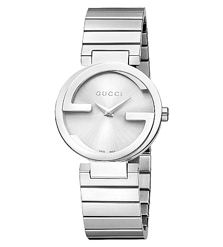 GUCCI YA133503 Interlocking-G Collection stainless steel watch