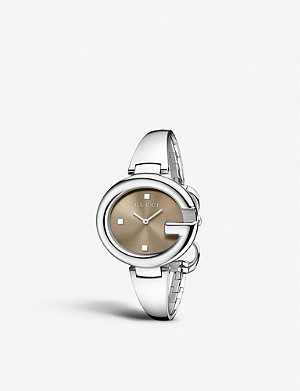 GUCCI YA134302 Guccissima stainless steel watch