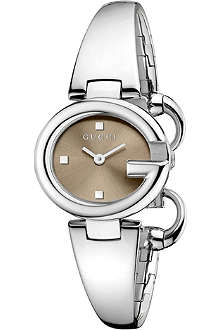 GUCCI YA134503 Guccissima Collection stainless steel watch