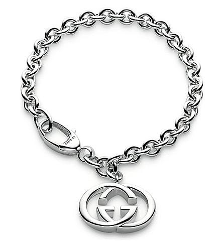 GUCCI Loose link bracelet (Silver