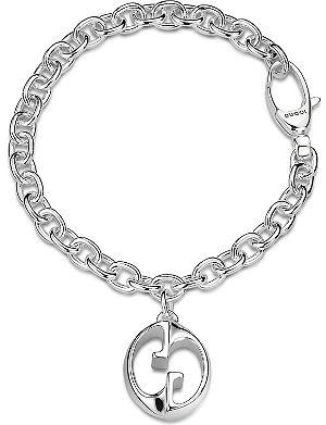 GUCCI Double G charm bracelet