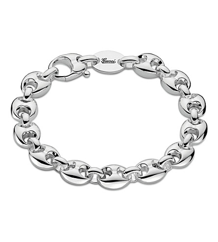 GUCCI Marina Chain small sterling silver bracelet (Silver