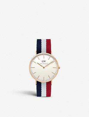 DANIEL WELLINGTON 0103DW Classic Cambridge watch