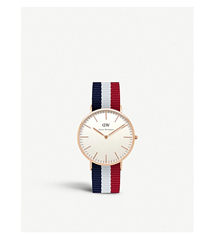 DANIEL WELLINGTON 0103DW Classic Cambridge watch (White