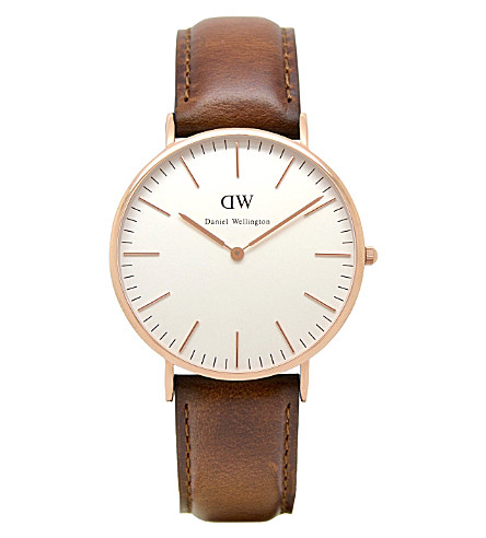 DANIEL WELLINGTON 0106DW Classic St Andrews watch (White