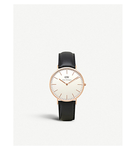 DANIEL WELLINGTON 0107DW Classic Sheffield watch (White