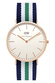 DANIEL WELLINGTON 0108DW Classic Nottingham watch