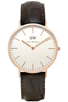 DANIEL WELLINGTON 0111DW Classic York watch