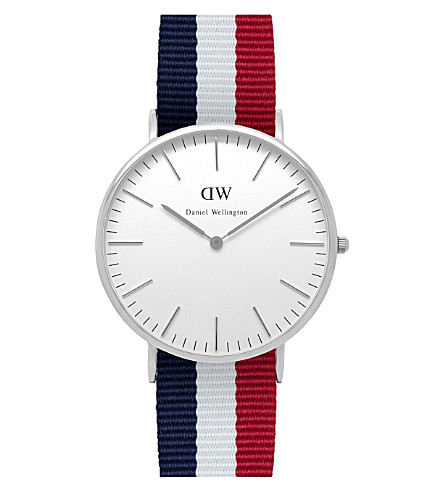 DANIEL WELLINGTON 0203DW Classic Cambridge watch (White
