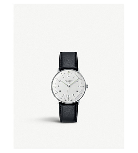 JUNGHANS 027/3500.00 Max Bill stainless steel watch (Silver