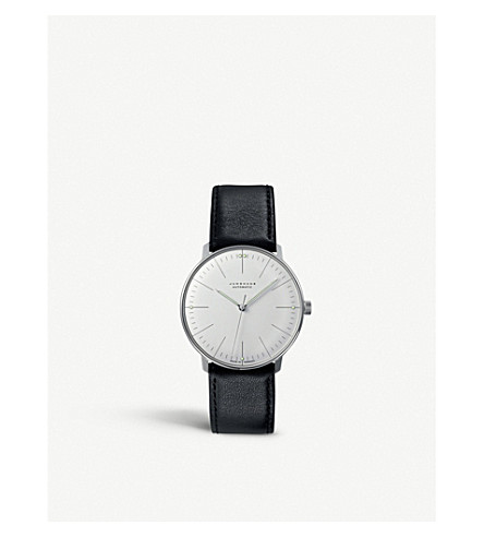 JUNGHANS 027/3501.00 Max Bill stainless steel watch (Silver