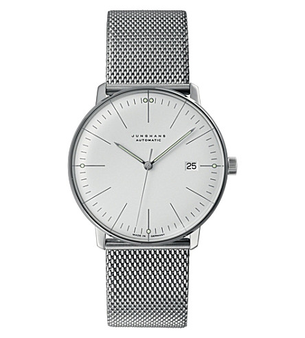 JUNGHANS 027/4002.44 Max Bill stainless steel watch (Silver