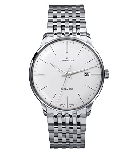 JUNGHANS 027/4311.44 meister classic stainless steel watch (Silver