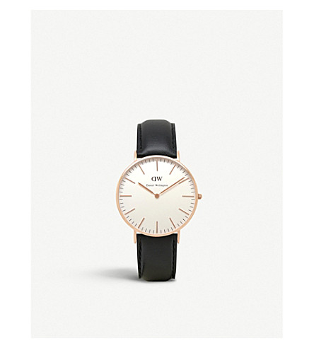 DANIEL WELLINGTON 0508DW Classic Sheffield ladies watch (White