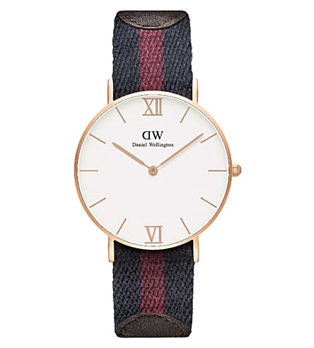 DANIEL WELLINGTON Grace London watch (White
