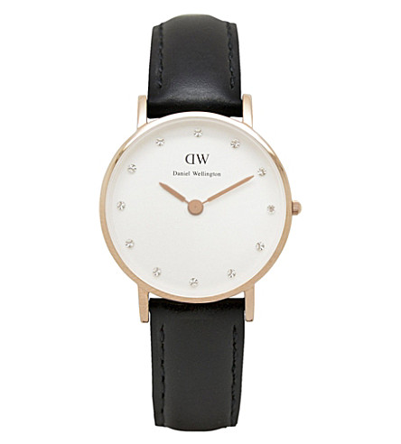 DANIEL WELLINGTON Classy Sheffield ladies watch (White