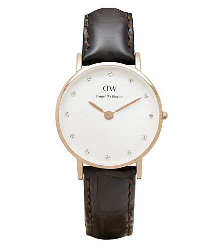 DANIEL WELLINGTON Classy Cardiff ladies watch (White