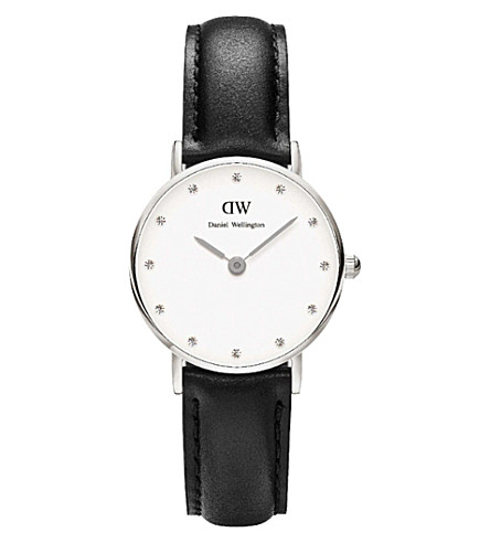 DANIEL WELLINGTON Classy Silver watch (White