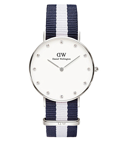 DANIEL WELLINGTON 0963DW Classy Glasgow stainless steel watch