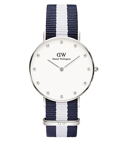 DANIEL WELLINGTON 0963DW Classy Glasgow stainless steel watch