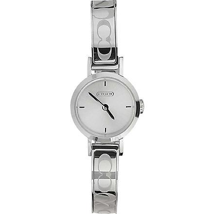 COACH Studio 14501438 silver watch (Silver