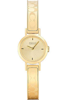COACH 14501439 Studio gold-toned watch