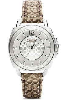COACH 14501538 Boyfriend stainless steel watch