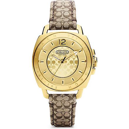 COACH Mini strap watch 14501548 (Yellow