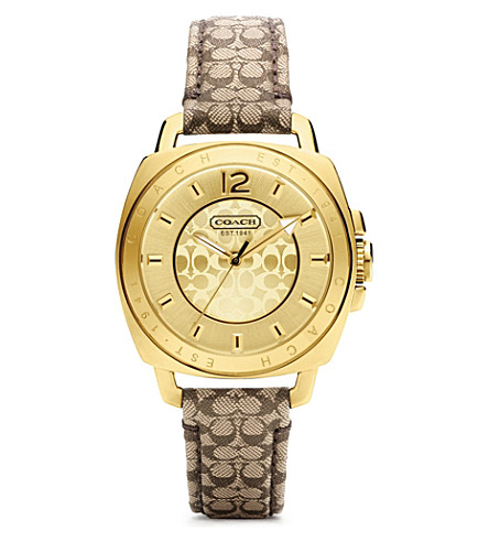 COACH Mini strap watch 14501548 (Yellow