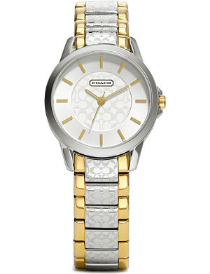 COACH Silver & gold-tone watch 14501610