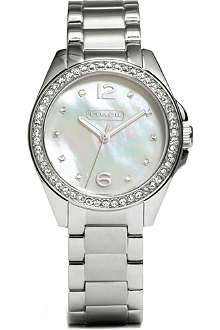COACH Mother of pearl watch 14501656