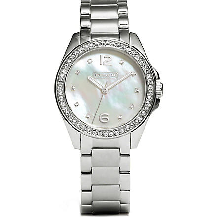 COACH Mother of pearl watch 14501656 (Peal