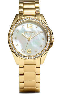 COACH Mother of pearl watch 14501657
