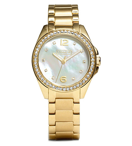 COACH Mother of pearl watch 14501657 (Peal