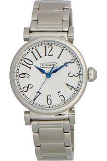 COACH 14501719 Madison steel watch