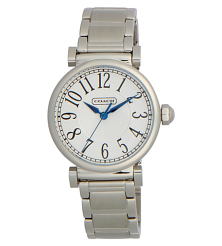 COACH 14501719 Madison steel watch (Peal