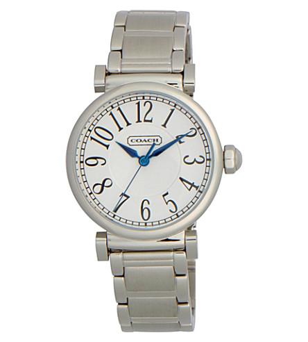 COACH 14501719 Madison steel watch (Peal