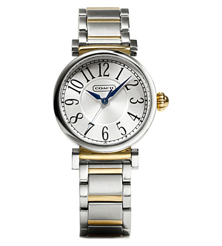 COACH 14501722 Madison gold-toned and stainless steel watch (Peal