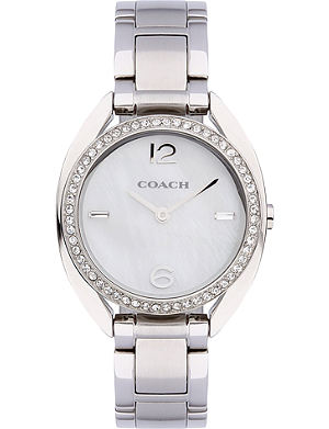 COACH 14502056 Sam silver-toned watch